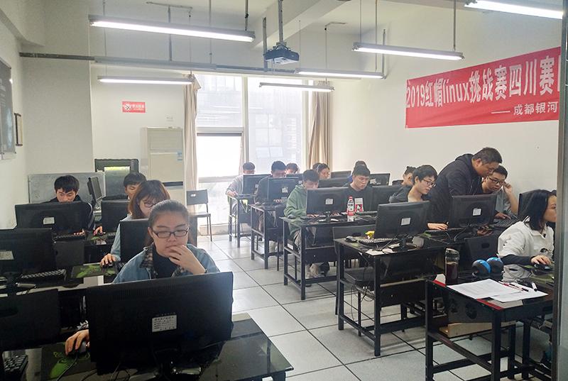 2019红帽挑战赛复赛在银河教育中心成功举行